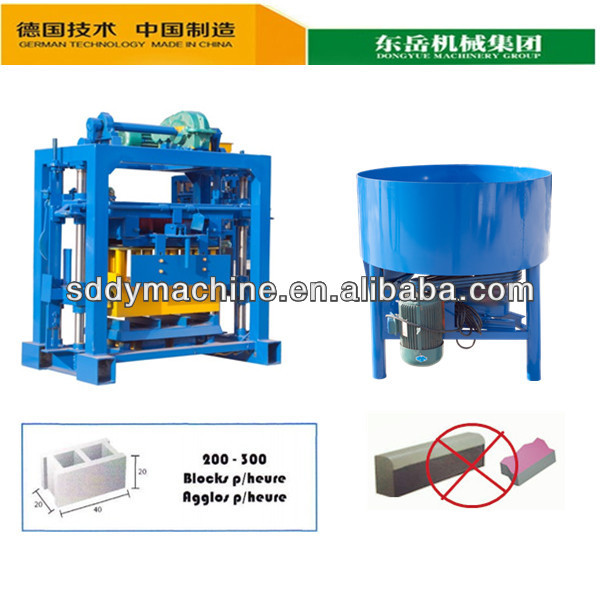 manual concrete curb stone block machine of gypsum production line with germany technology