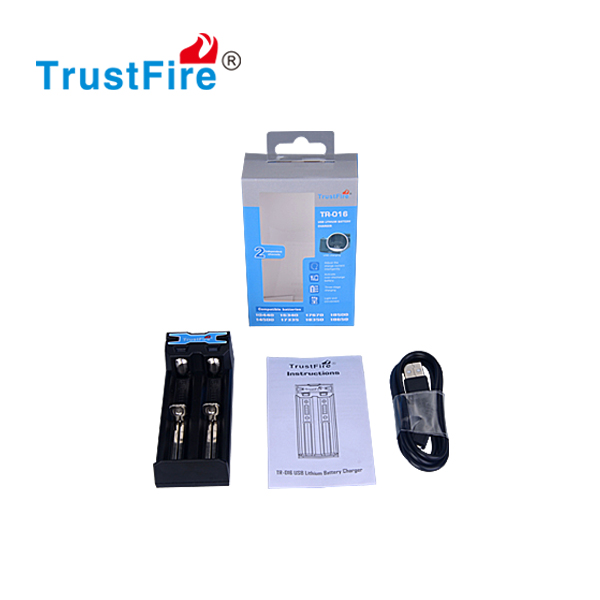 trustfire TR-016 usb battery charger CE,ROHS certificado usb wall charger 1a