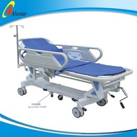 ALS-ST004 Luxurious ABS patient emergency plastic utility cart