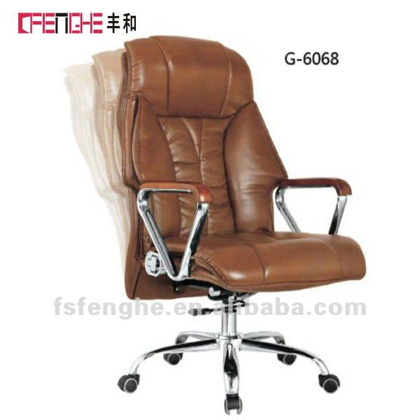 [china office furniture]PU director leather chair for officeG-6068[commercial furniture]