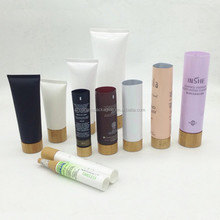 bamboo tube packaging cosmetic packaging tube with bamboo lid