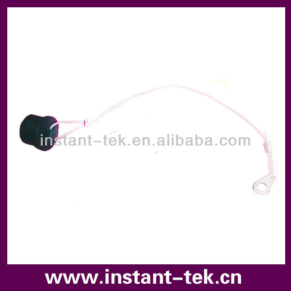 M12 dust cap with ribbon for led light strip
