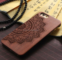 Customized mobile bags for iphone 6 PC wood phone cases