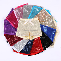 Girls Boutique Clothing glitter shorts many clors ,baby clothing shorts for baby boy