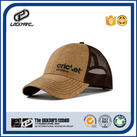 Summer cool straw hemp baseball cap and hat with cap machine