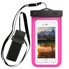 Promotional Mobile Phone Waterproof Arm Bag, Pvc Cell Phone Pouch With Arm Band