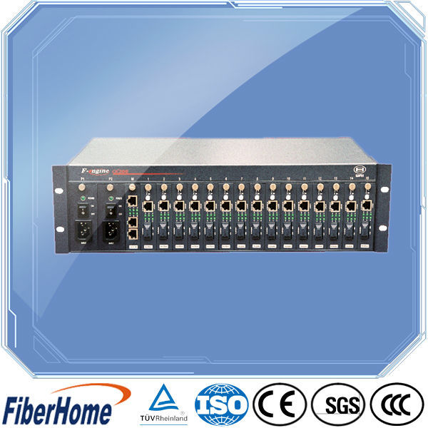 Network equipment optical fiber optic converter