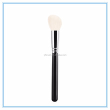 Hot sale goat hair large angled contour cheek makeup brushes