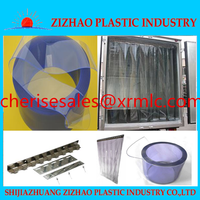 Alibaba ZIZHAO flexible pvc strip curtain &kitchen curtain