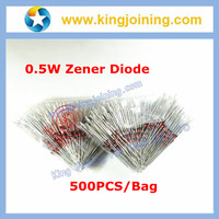BZX55C6V2 1/2W 0.5W 6.2V 6V2 500mW Zener diode 1N5234 DO-35 500pcs/bag
