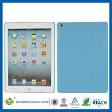 C&T Blue hard plastic rubber protective case for ipad pro cover