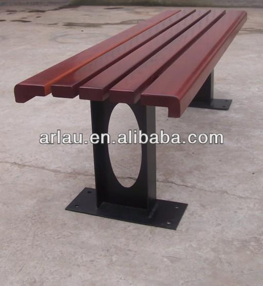 venda quente simples de madeira ao ar livre da cadeira banco para o parque e rua fw13