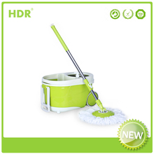 HDR-M022B Walkable bucket mop 360 Spin Magic Mop,Hand Press With Wringer Mop Bucket