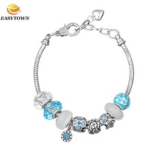 New ! 2016 Wholesale Charm Custom Metal Adjustable Bracelets for women