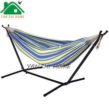 PE rattan 2 seat hanging swing chair with canopy