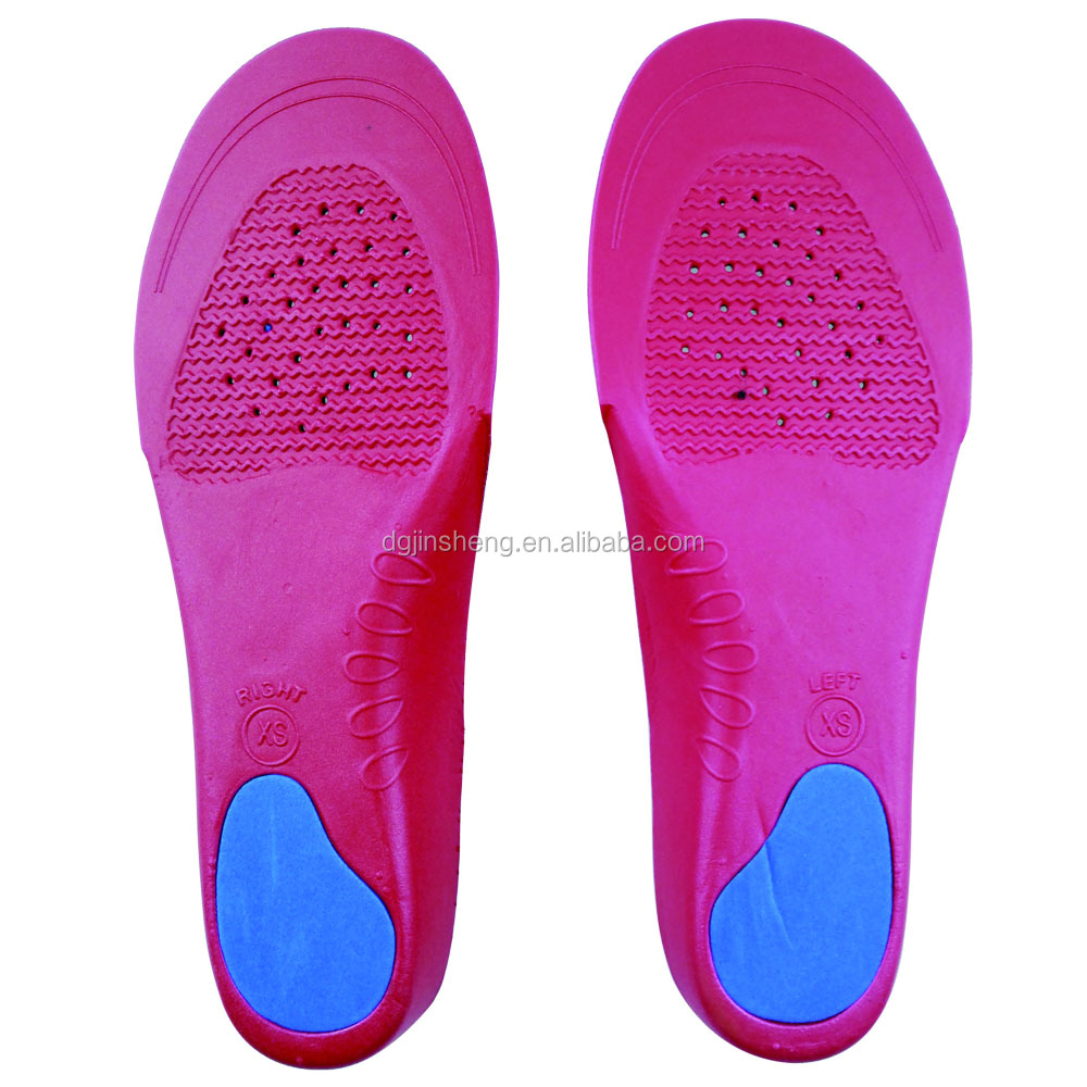Soft removable eva insole sport insole shoe inserts
