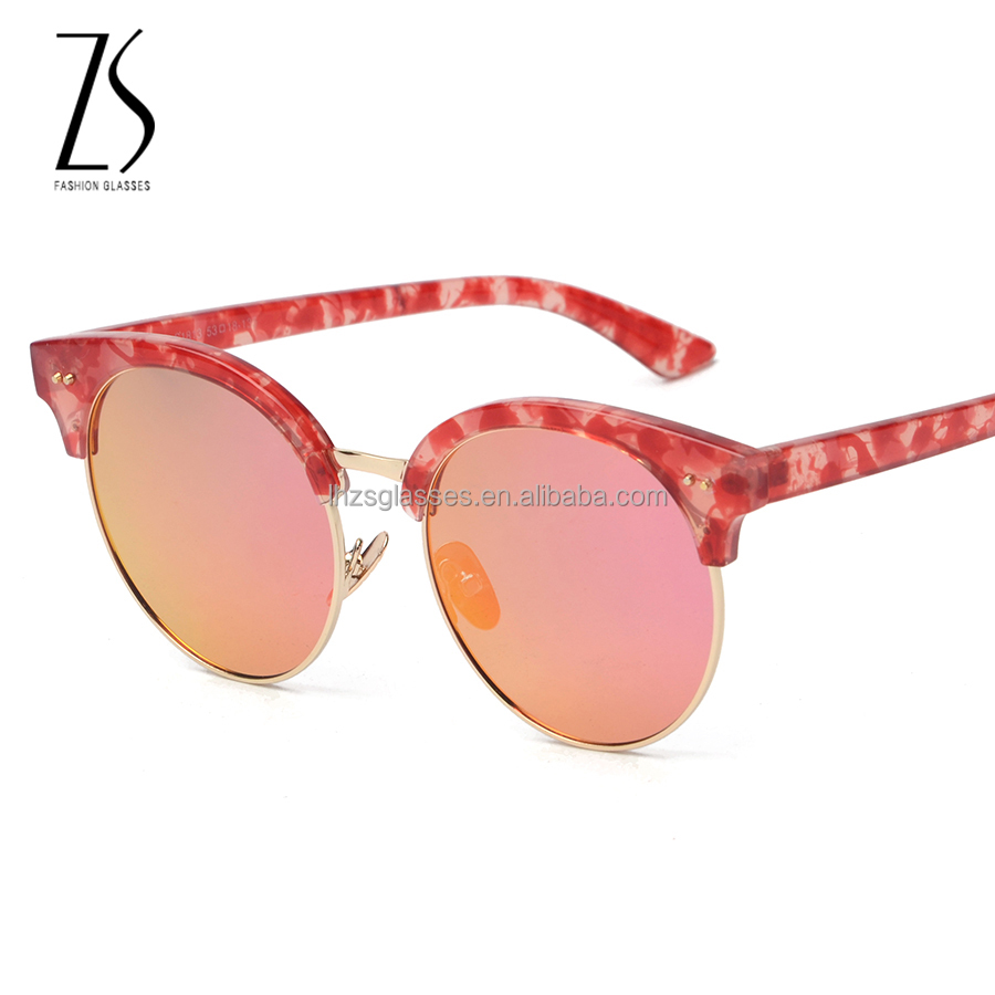 S1813 sunglasses 2016 women china sunglasses factory oem glasses rose gold lens