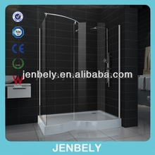 6/8/10mm Nano Big Space Walk-in Bath Room BL-082