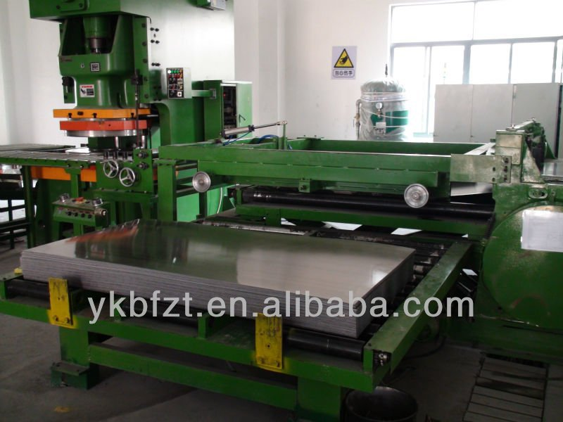 Sheet Cutting Machine for steel drum or steel drum production line 210 liter 55gallon