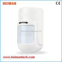 2015 new High Sensitivity wireless indoor PIR Motion sensor Detector With CE Certificate