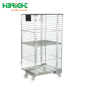 Industrial Container Cages carts Roll Cage Trolley with fabric cover