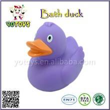 promotional plastic duck baby toys, pvc toy vinyl bath duck , swimming rubber duck baby soft toys