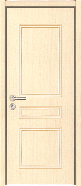 pvc solid wood door Plastic Interior Door Glass bathroom french doors
