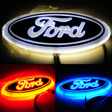 4D ford car brand light / Led 4d car logo/ car led emblem for FORD
