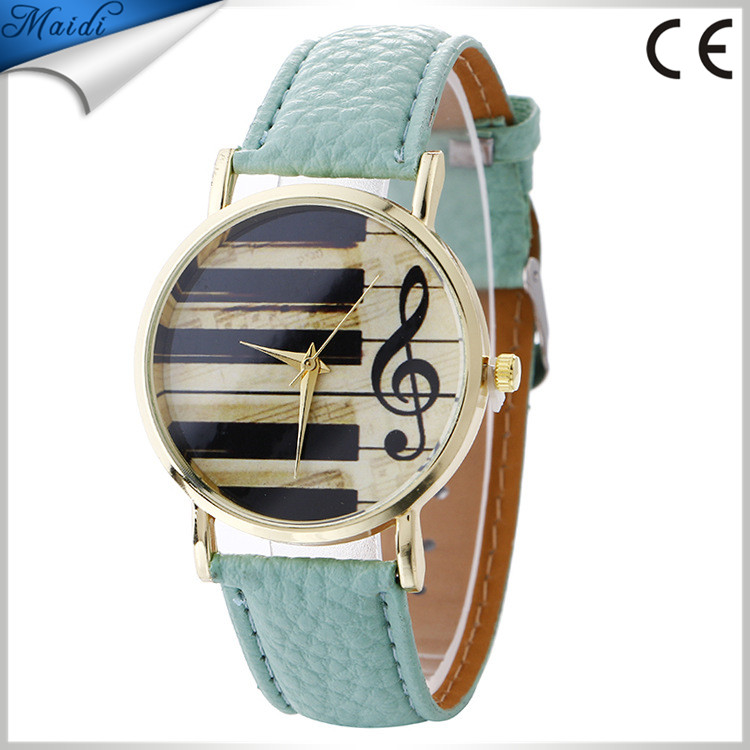 Alibaba Hot Leather Piano Music Note Watch Women Watches Wholesale Lady Wrist Jewelry LW062