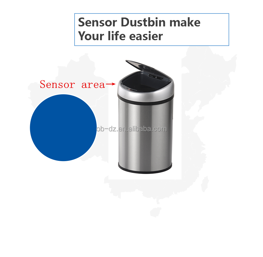 infrared sensor rubbish bin & recycling mini storage home use dustbin