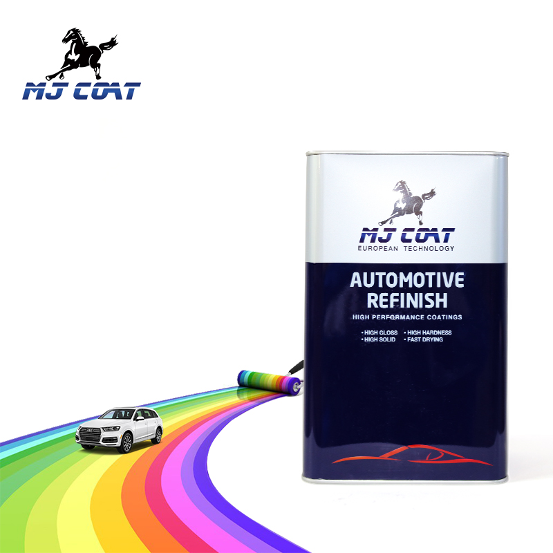 MJ COAT Brand 1K silver colors car paint names for 1K primer surfacers
