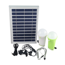 5W solar home light with remote controller portable solar kits with lithium battery solar lighting system for indoor