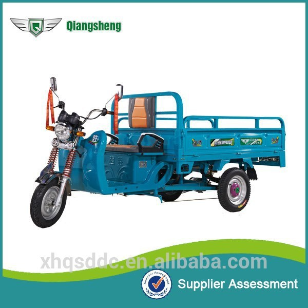 2015 good price Qiang Sheng cargo tricycle with closed body for wholesales