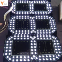 12 inch led 7 segment electronic outdoor led banner display
