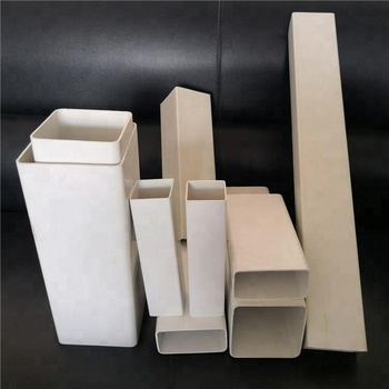LANTAN company wholesale and Custom PVC square rectangular pipe price