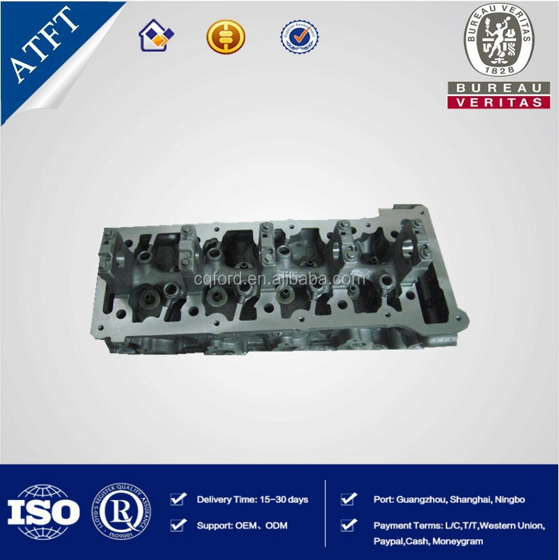 auto parts cylinder head with valve, for ford fiesta 1.6 cylinder head from china supplier OEM XS6E6C032D4K