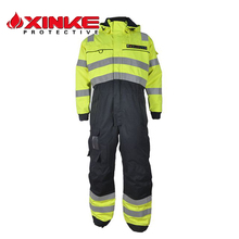 Coverall Flame Fire with Retardant Reflective