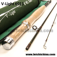 In stock 6ft 3 sections carbon 30T fly fishing rod