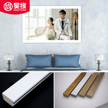Inexpensive Readymade Plastic Silver Finished PS Moulding Sticks for Wedding Photo Frame