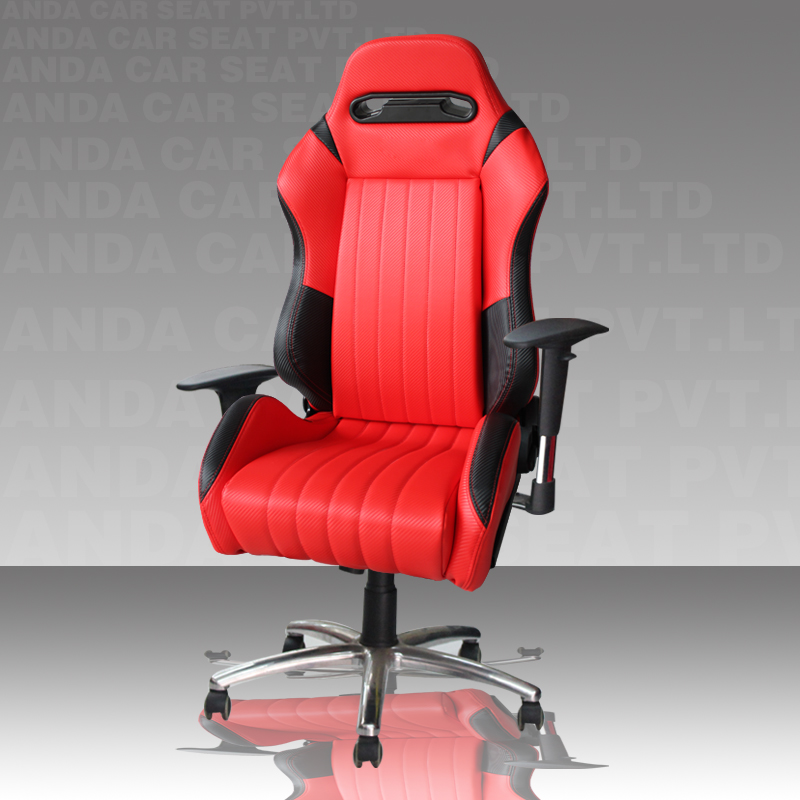 OEM/ODM PVC Racing Car Seat Style Office Gaming Chair/New Model Game Computer AD-9