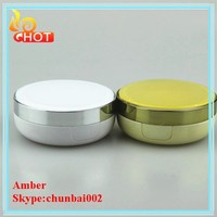 GREAT popular cosmetic round compact powder case with mirror
