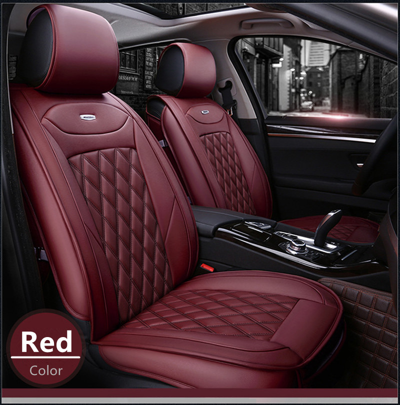 New design PU leather full cover universal car seat cover for Kia Rio