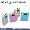 New arrival shenzhen mobile 6000mah battery bank