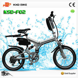 250W 36V10AH fold e bike/new electric bike bicycle/electric bicycle on sale (KXD-F02)
