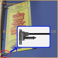 lamp post sign holder manufacture