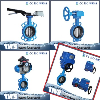 Best quality shouldered connection butterfly valve most popular