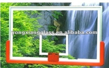 high quality Tempered glass basketball backboard for sale