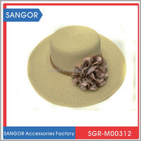 Durable attractive custom drinking straw hat