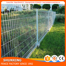 Shunxing Company 2017 High quality galvanized curved garden metal small fence