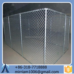 2015 Useful Larger Outdoor Unti-tust and Durable Cheap and Galvanized Wire Dog Kennels